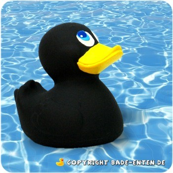 Badeente Black Duck