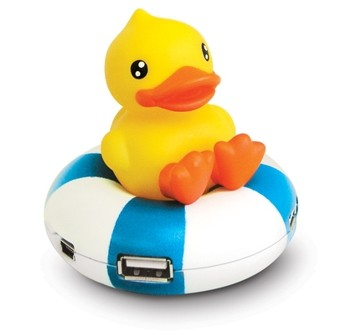 USB-Hub Floating Duck