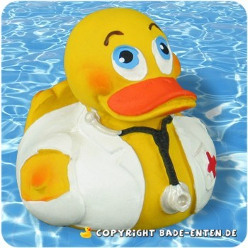 Badeente Doctor Duck