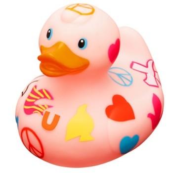 Quietscheente Peace Duck- BUD by Designroom