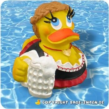 Badeente Dirndl Duck