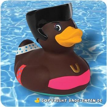 Mini-Quietscheente Deluxe Duck Disco Queen