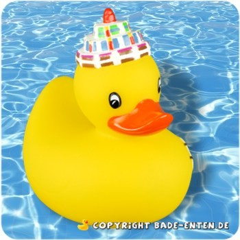Badeente Gunnar Geburtstag