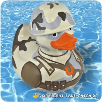 Mini-Quietscheente G.I. Duck