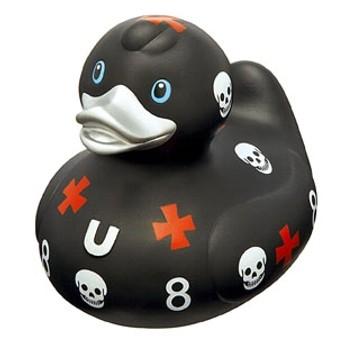 Quietscheente Biker Duck - BUD by Designroom