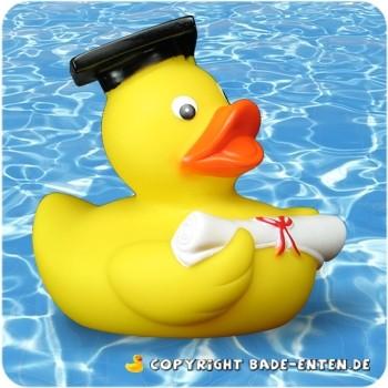 Squeaky Graduate Duck