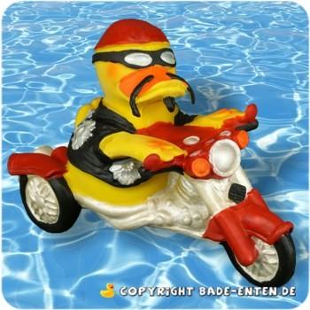 Badeente Biker-Duck