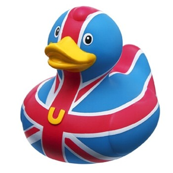 Mini-Quietscheente Brit Duck