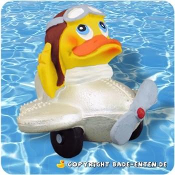 Badeente Flugzeug Duck