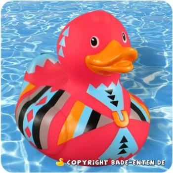 BUD Quietscheente Deluxe Aztec Duck