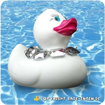 Diamante Duck White - Deluxe Ducks