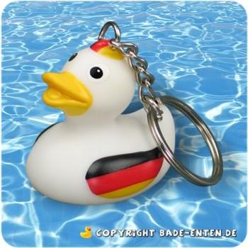 Schlüsselanhänger Badeente Deutschland