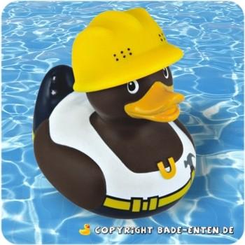 Mini-Quietscheente Construction Worker Duck